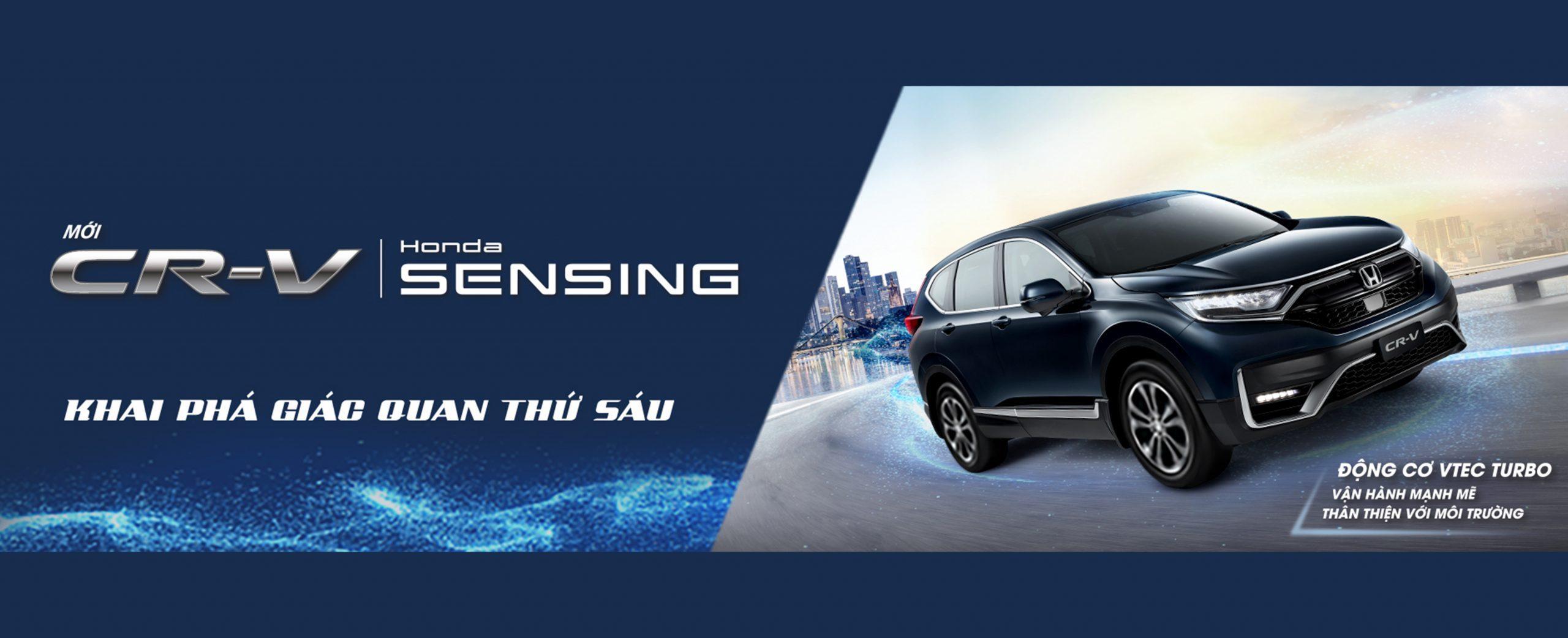 Honda CRV - Honda Ô tô Ninh Bình Tràng An